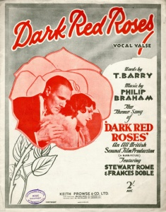 Wembley-dark-red-roses-poster