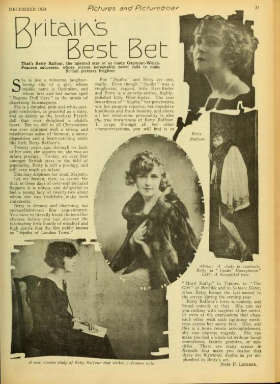 Picturegoer December 1924
