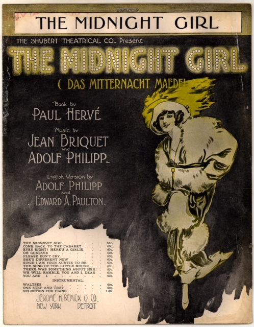 The Midnight Girl sheet music