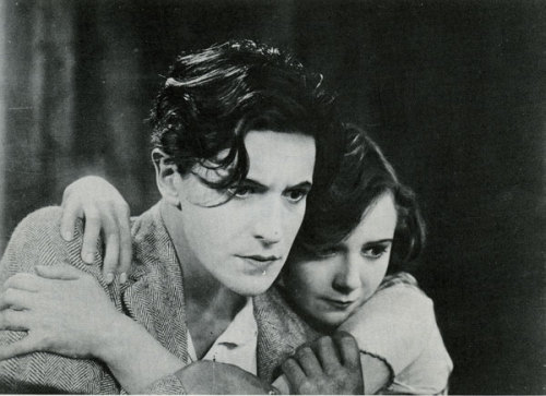 Ivor Novello and Mabel Poulton in The Constant Nymph